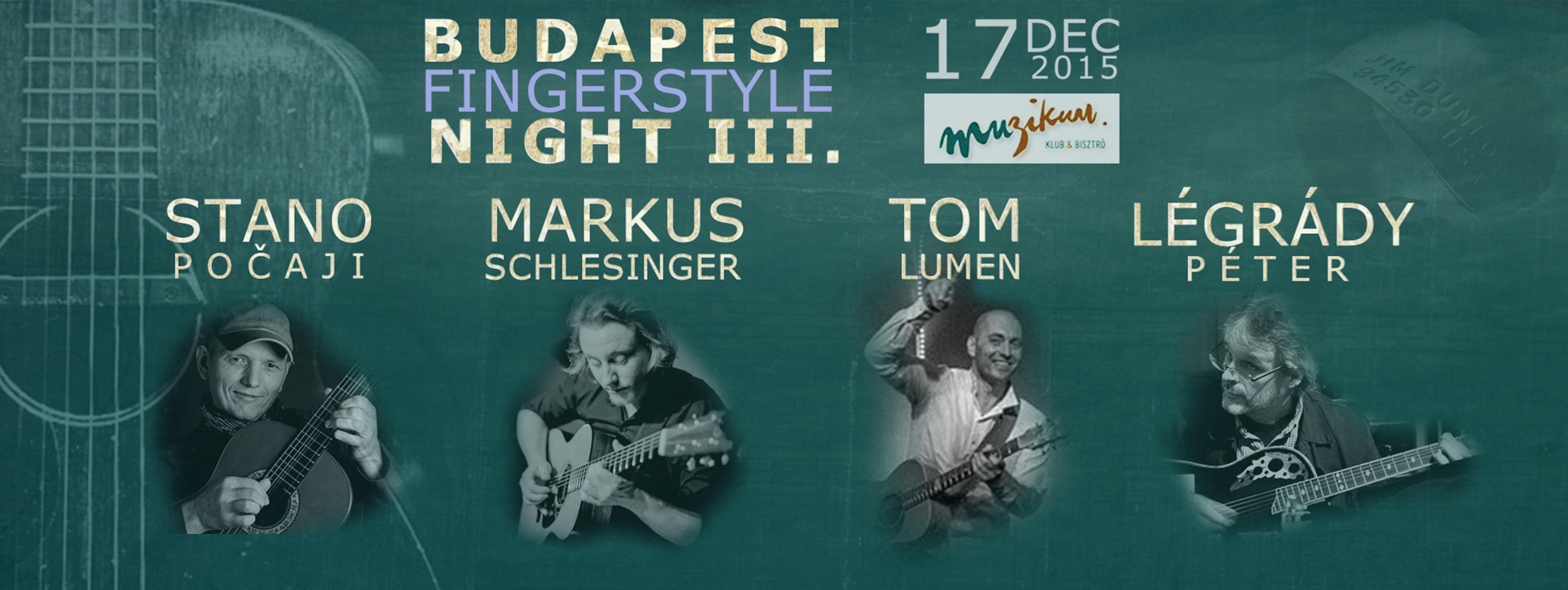 Budapest Fingerstyle Night III