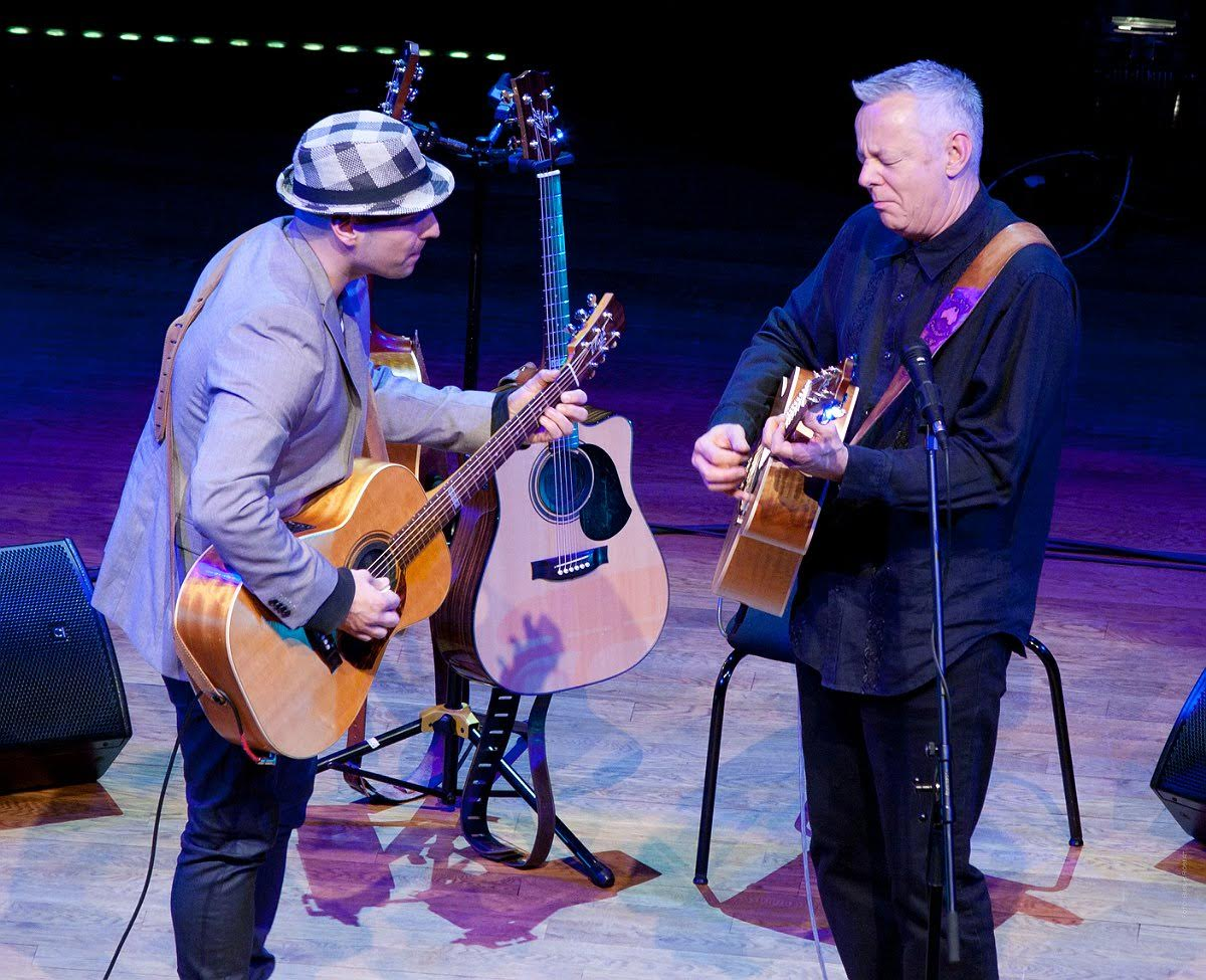 Tommy Emmanuel and Tom Lumen