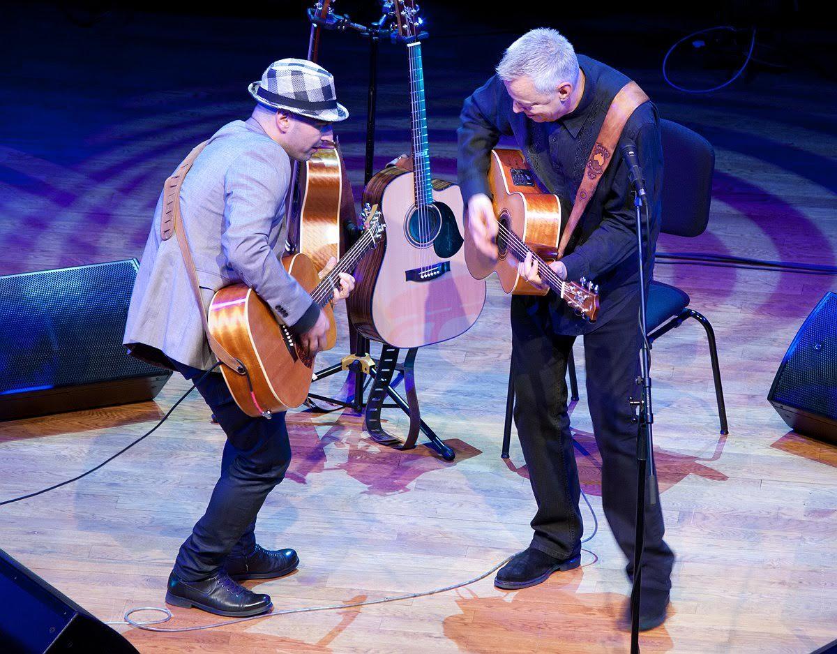 Tommy Emmanuel and Tom Lumen
