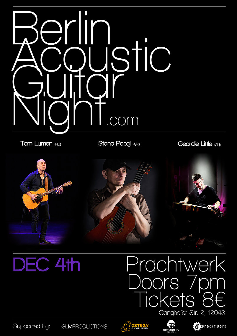 Berlin Acoustic Guitar Night