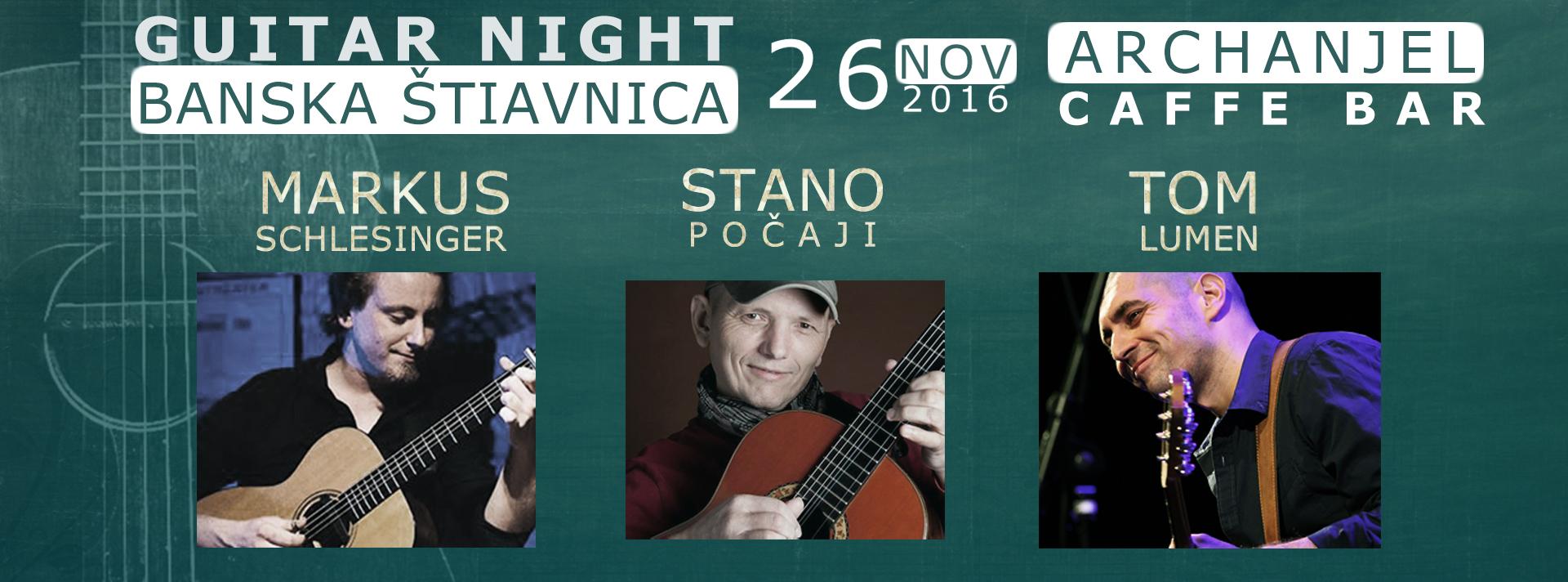 Guitar Night Banská Štiavnica