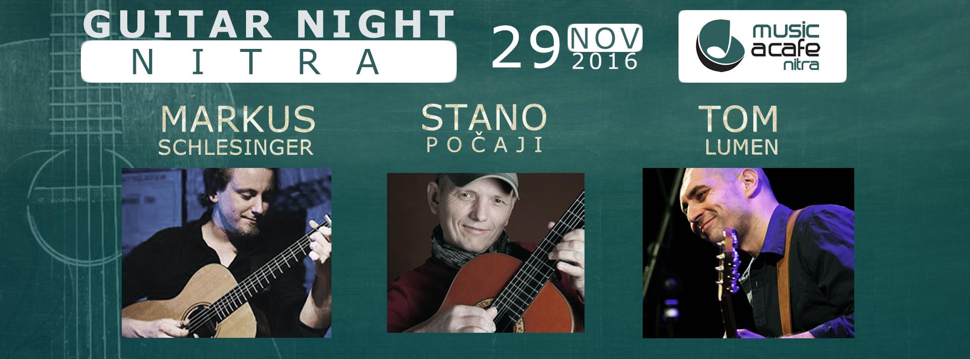 Guitar Night Nitra