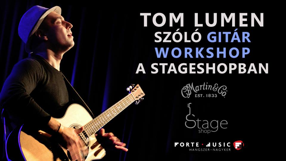 Tom Lumen - Stageshop workshop