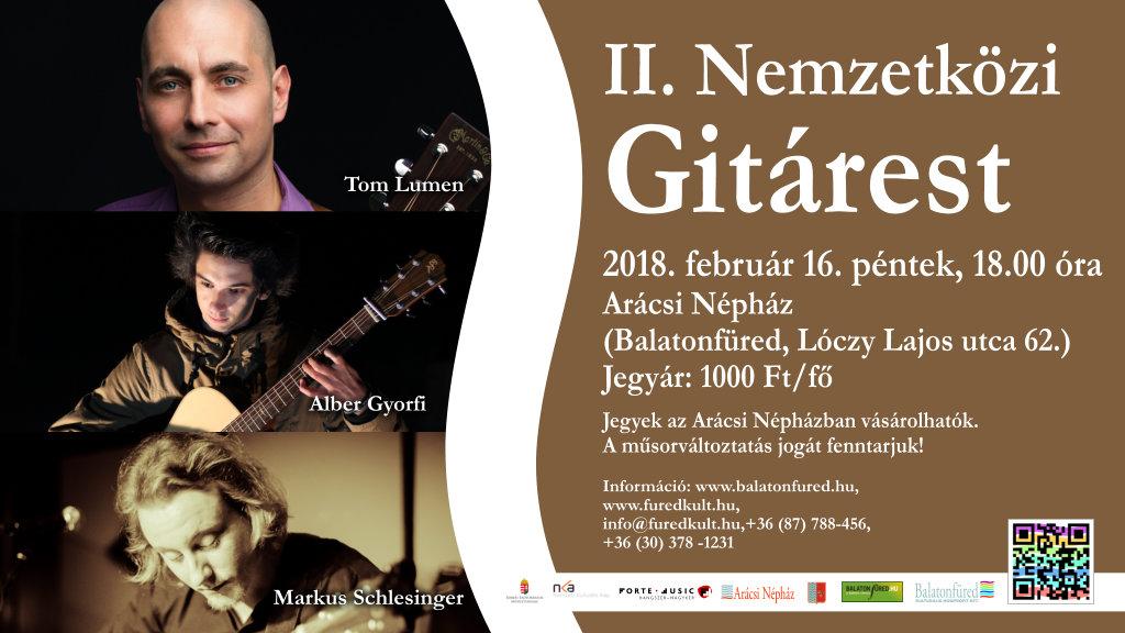 II. Nemzetközi Gitárest Balatonfüred